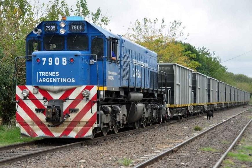 La línea Urquiza  del Transporte de Cargas duplicó la carga transportada en octubre, tras su reactivación