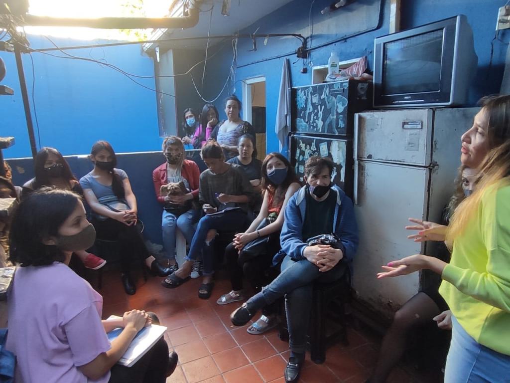 INAES Asistió para la constitución de cooperativa del colectivo trans y travesti