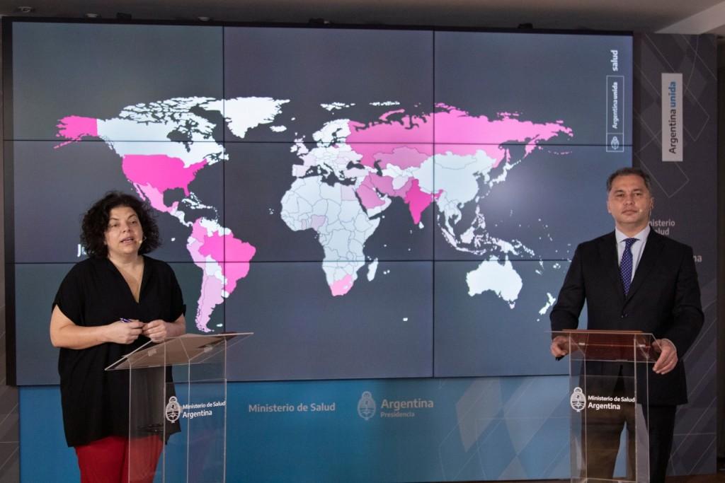 El Ministerio de Salud continúa trabajando junto a las jurisdicciones para responder a la pandemia