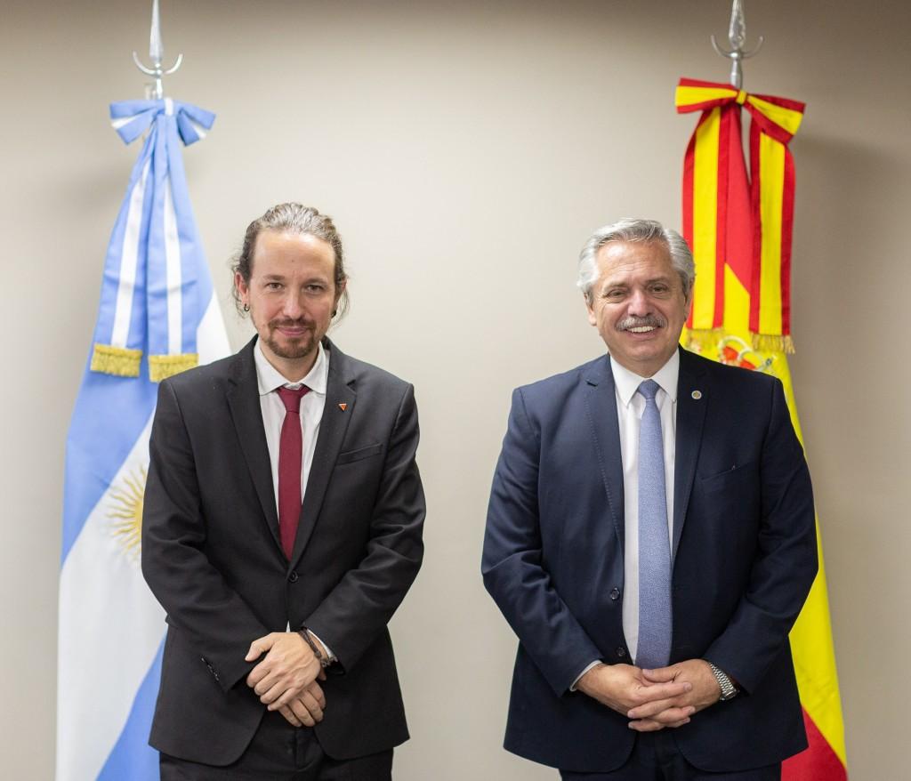 El Presidente tuvo una reunión bilateral con el vicepresidente de España