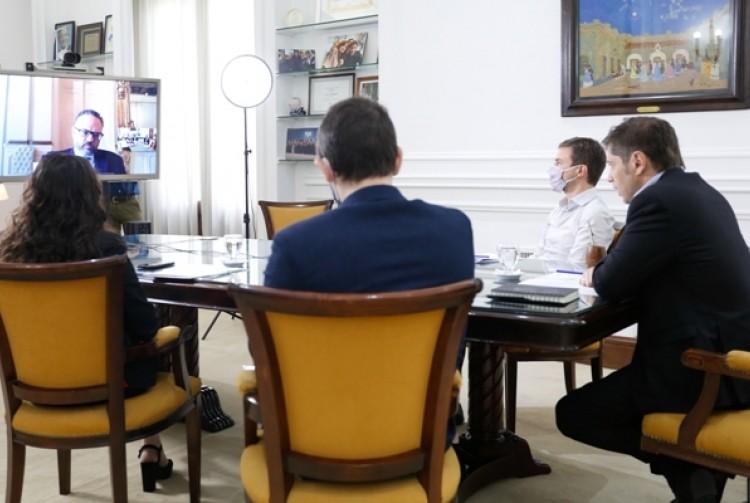 """Axel Kicillof: """"Las pequeñas y medianas empresas serán las grandes protagonistas de la pospandemia"""""""