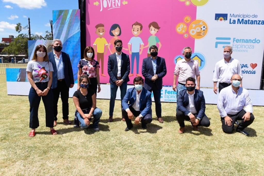 Comienza el programa Potenciar Inclusión Joven en la Matanza