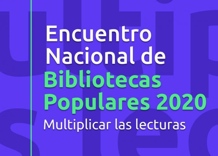 Encuentro Nacional de Bibliotecas Populares 2020
