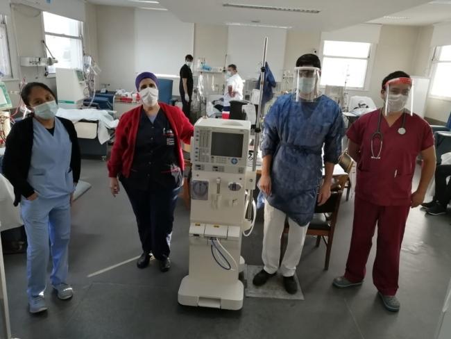 La provincia de Buenos Aires sumó equipamiento para responder a la demanda de todos los servicios hospitalarios