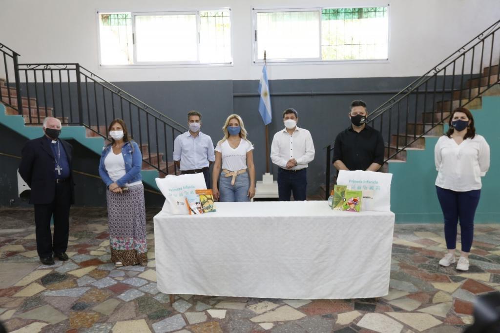 Se Firmaron convenios para fortalecer tres Centros de Desarrollo Infantil en Merlo y Moreno
