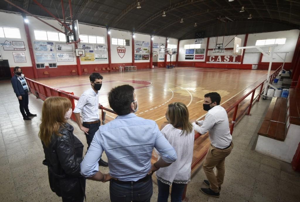 Avanza en Santa Fe el Programa Clubes en Obra