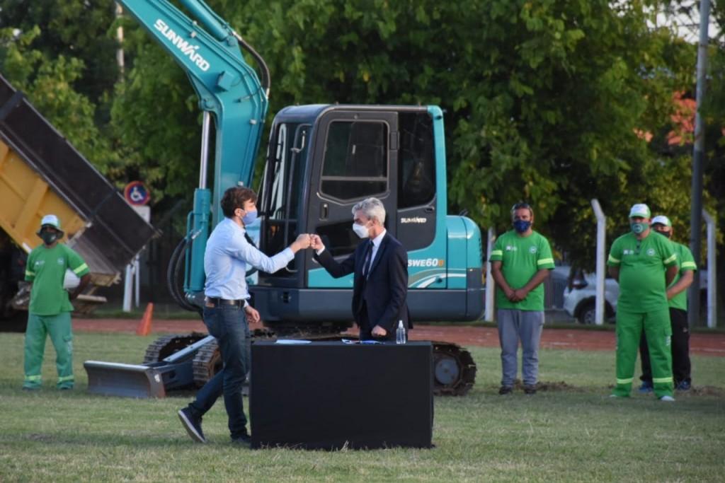 Mario Meoni anunció obras ferroviarias para Morón por $1.442 millones