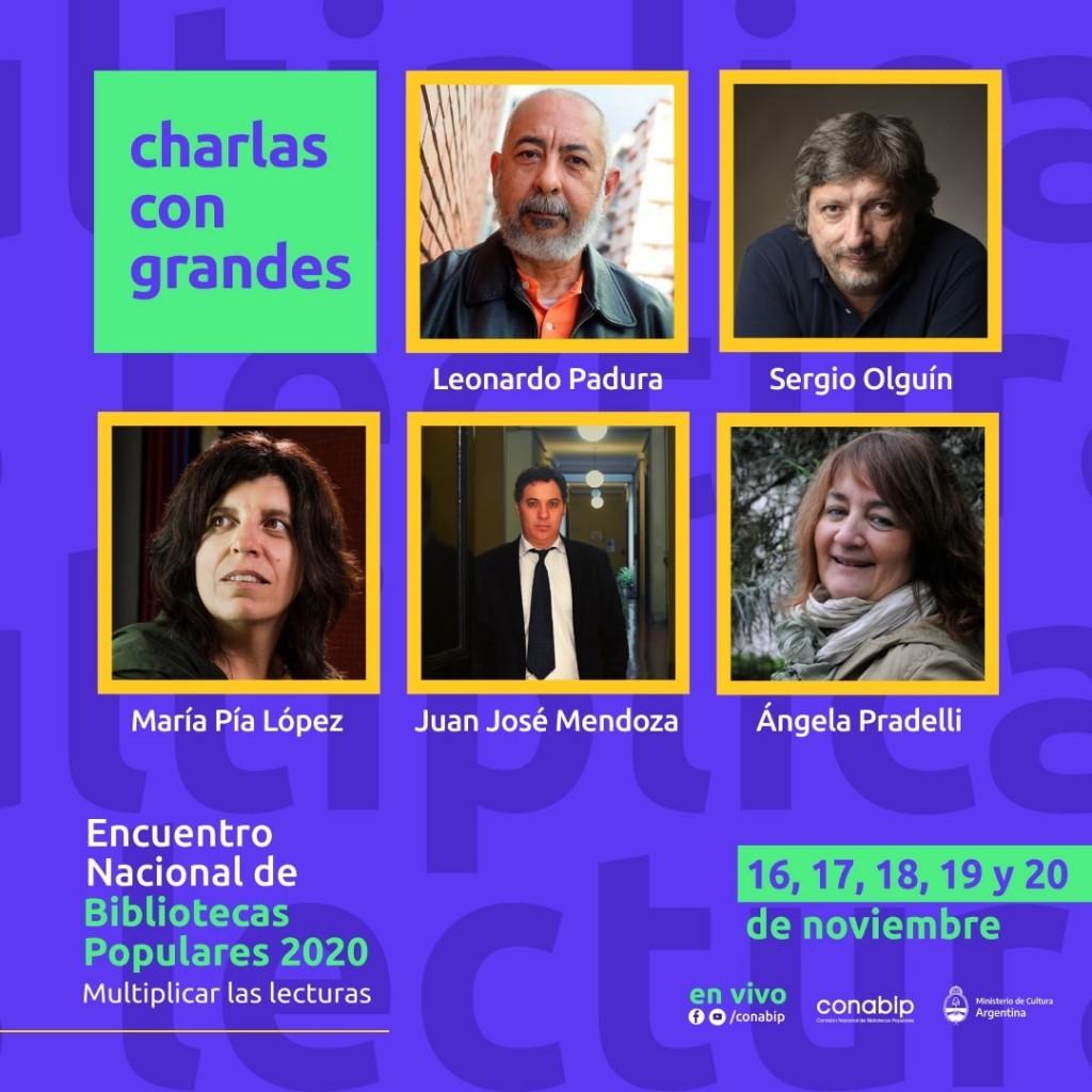 Charla: Revisando los anaqueles, por María Pía López