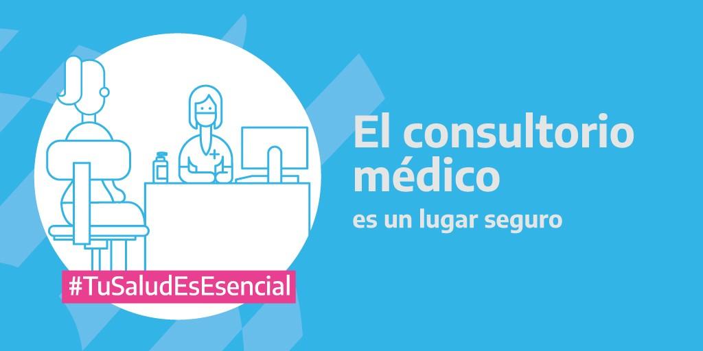 Comenzo la Campaña para reforzar la prevención y los chequeos médicos durante la pandemia
