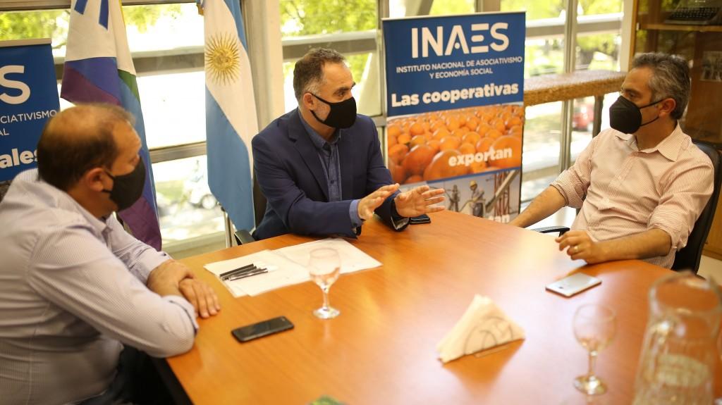 INAES firmó un convenio para impulsar mejoras habitacionales en Buenos Aires