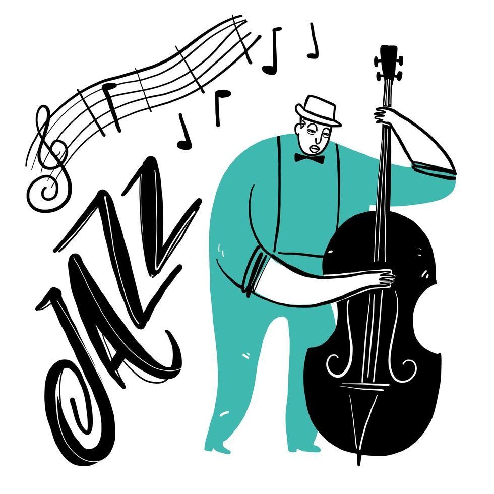 Jazz en el patio del Museo Nacional de Arte Decorativo