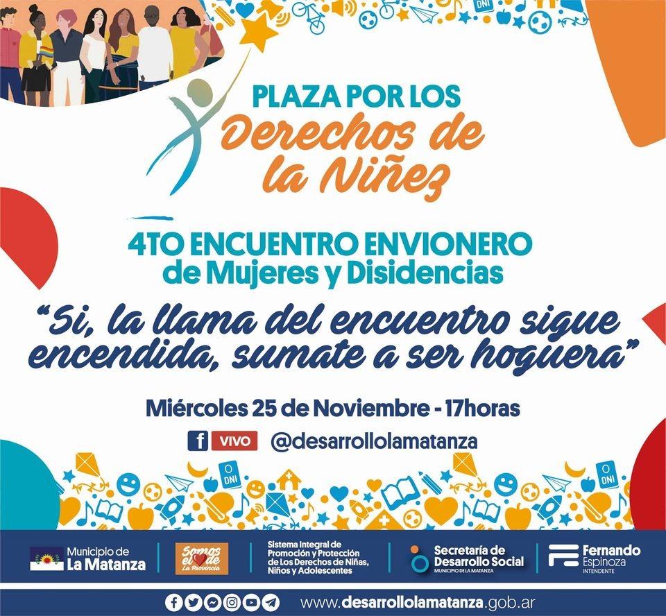 Nuevo Encuentro envionero de Mujeres y Disidencias