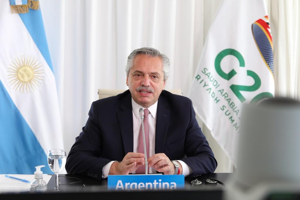 """Alberto Fernández aseguró que """"la Argentina está comprometida con una agenda de transición justa hacia el desarrollo integral y sostenible"""""""