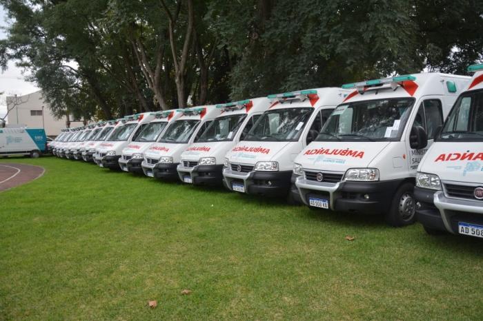 La provincia de Bs As recuperó 24 ambulancias abandonadas por la gestión anterior y reforzo su sistema  de derivación de pacientes.
