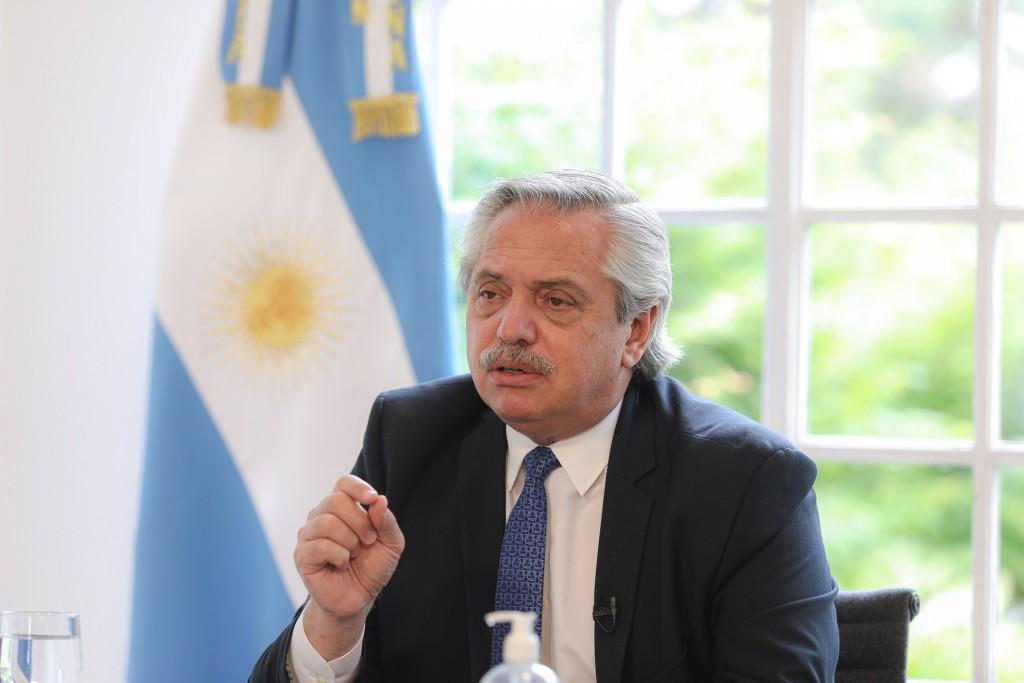 """Alberto Fernández: """"La construcción es el motor que va a encender la economía"""""""