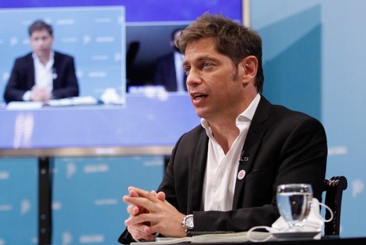 """Kicillof: """"Con la obra pública y privada vamos a poner al país y la provincia en el camino de la recuperación"""""""