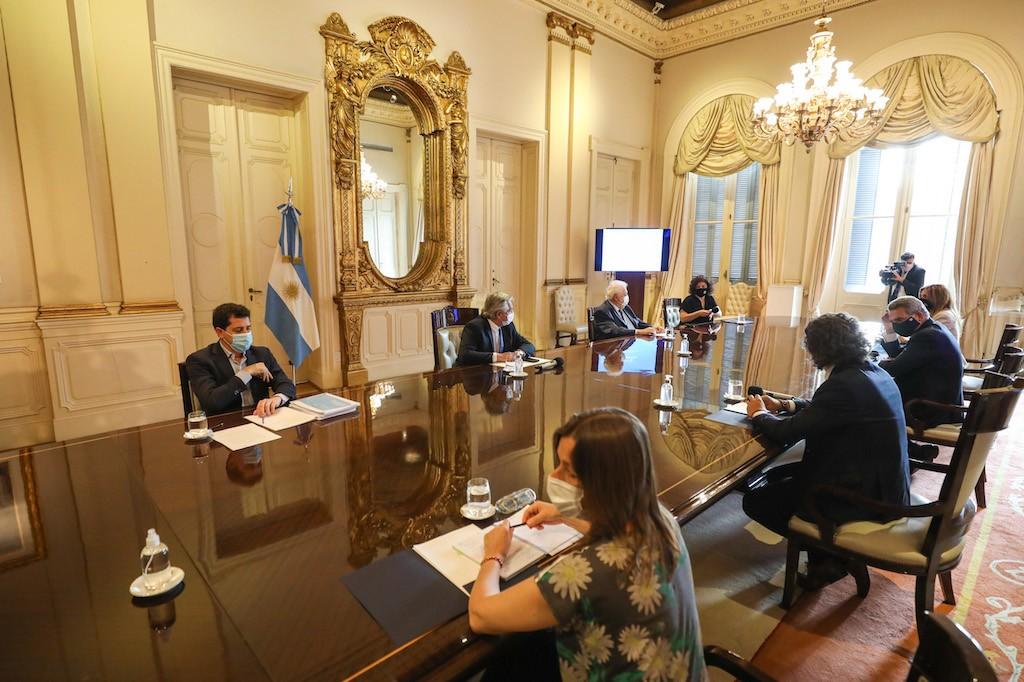 El Gobierno nacional mantuvo la primera reunión del Comité de Vacunación