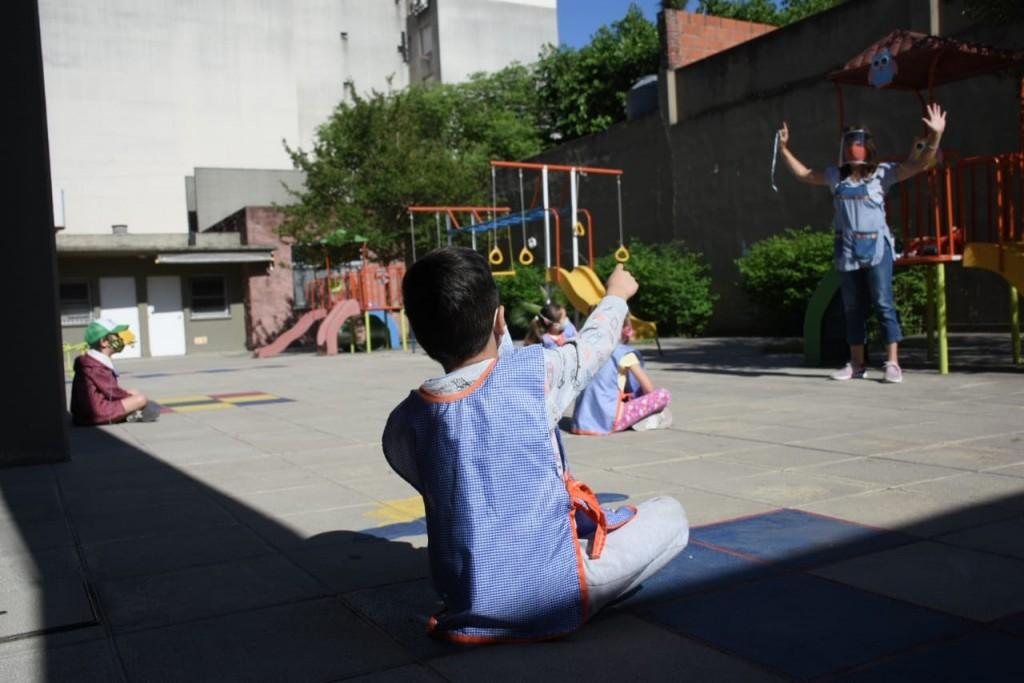 Morón: Iniciaron las actividades socioeducativas de revinculación en los jardines municipales