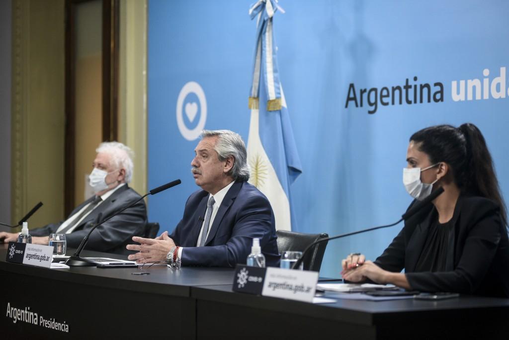 Coronavirus: El Presidente anunció que casi todo el país permanecerá en DISPO