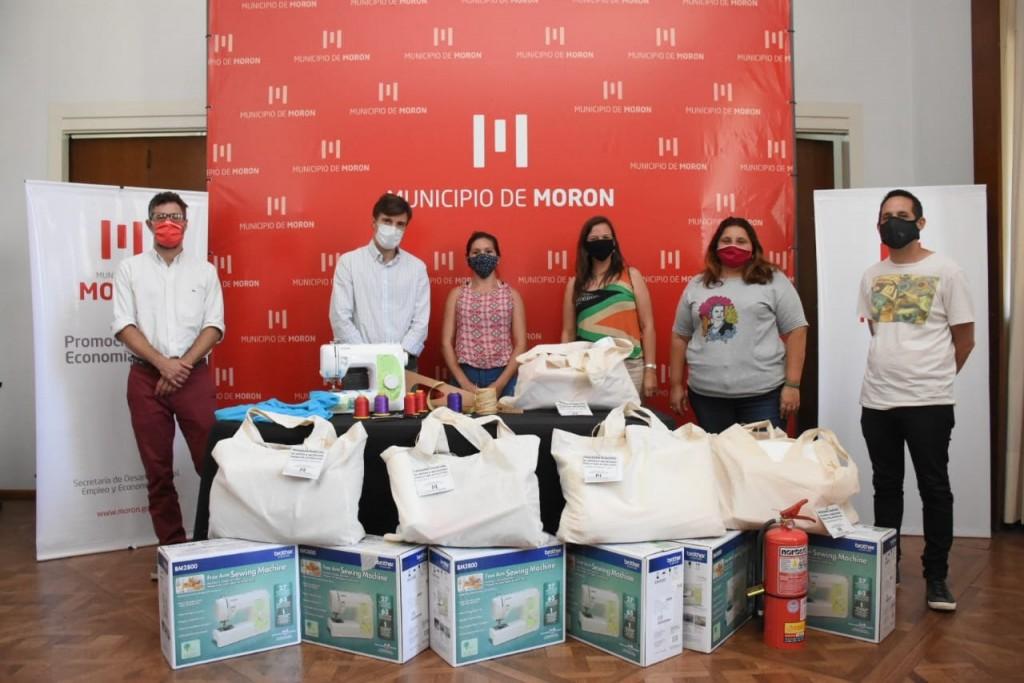 El Municipio de Morón continúa promoviendo el trabajo autogestivo textil