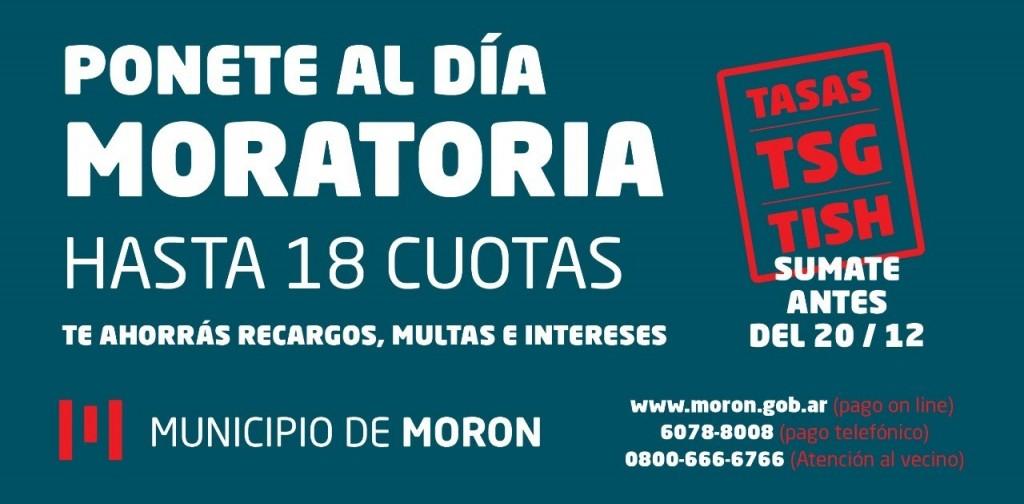 El Municipio de Morón abre una moratoria extraordinaria para deudores de tasas municipales