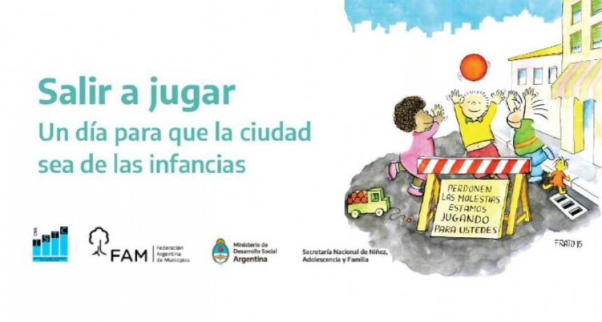 Salir a Jugar, un día para que la ciudad sea de las infancias