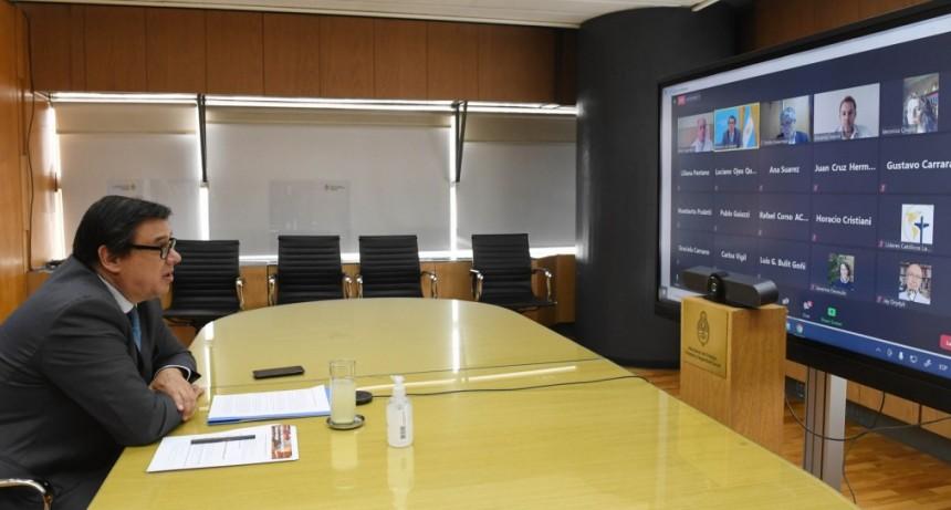 """Claudio Moroni participó del seminario """"Diálogos y consensos para una Argentina con Desarrollo Humano Integral"""""""