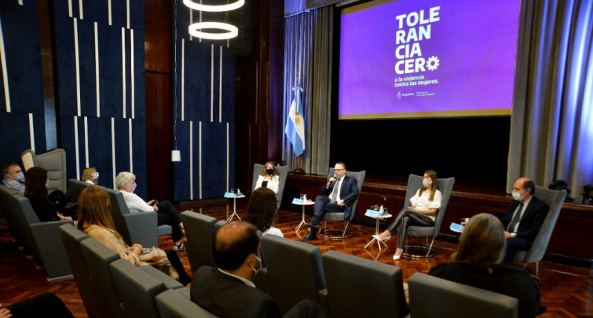 """Ae anunció la campaña """"Tolerancia cero a la violencia contra las mujeres"""""""