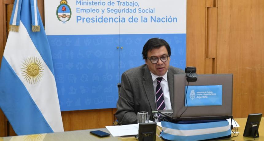 El Ministro de Trabajo, Empleo y Seguridad Social expuso en la reunión del Comité Permanente de la OISS