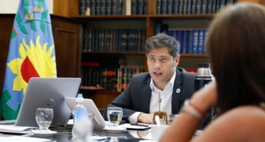 Axel Kicillof evaluó la situación epidemiológica de la Provincia junto a especialistas e intendentes
