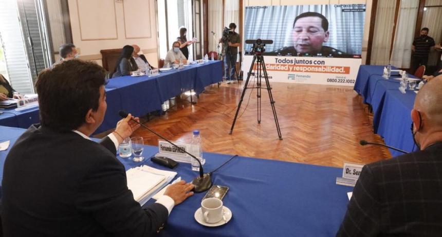 """Fernando Espinoza: """"Se invertirán 1500 millones de pesos en un Plan Integral de Seguridad para que en La Matanza se viva sin miedo"""""""