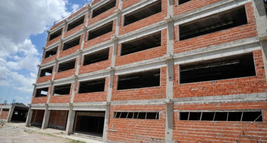 Reiniciaron las obras en la Fiscalía del Complejo Judicial de La Matanza