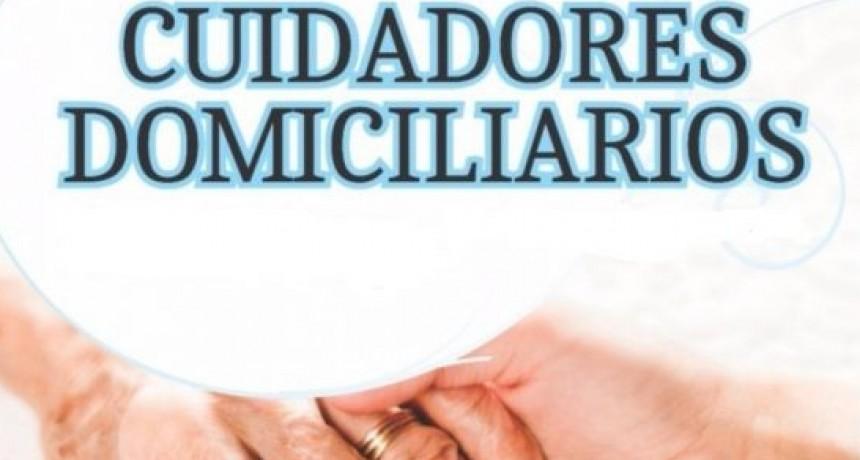 Comenzó la 4ª Semana Federal de Inscripción al Registro Nacional de Cuidadores Domiciliarios