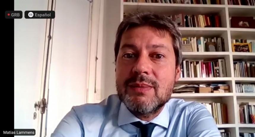 Matías Lammens participó de conferencia internacional sobre recuperación del turismo