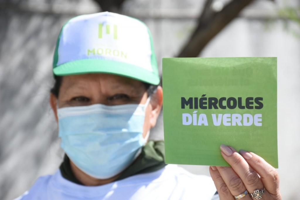 El Día Verde sigue extendiéndose en Morón