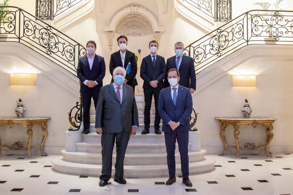 Ginés González García se reunió con el embajador italiano en Argentina para fortalecer el sistema sanitario nacional