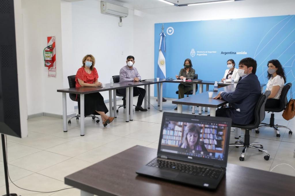 El Ministerio de Seguridad firmo un convenio de colaboración con CLACSO