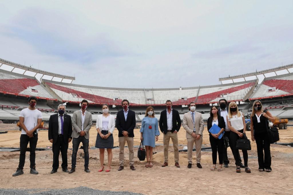 El Ministerio de Trabajo, Empleo y Seguridad Social inicia una articulación con el Club Atlético River Plate