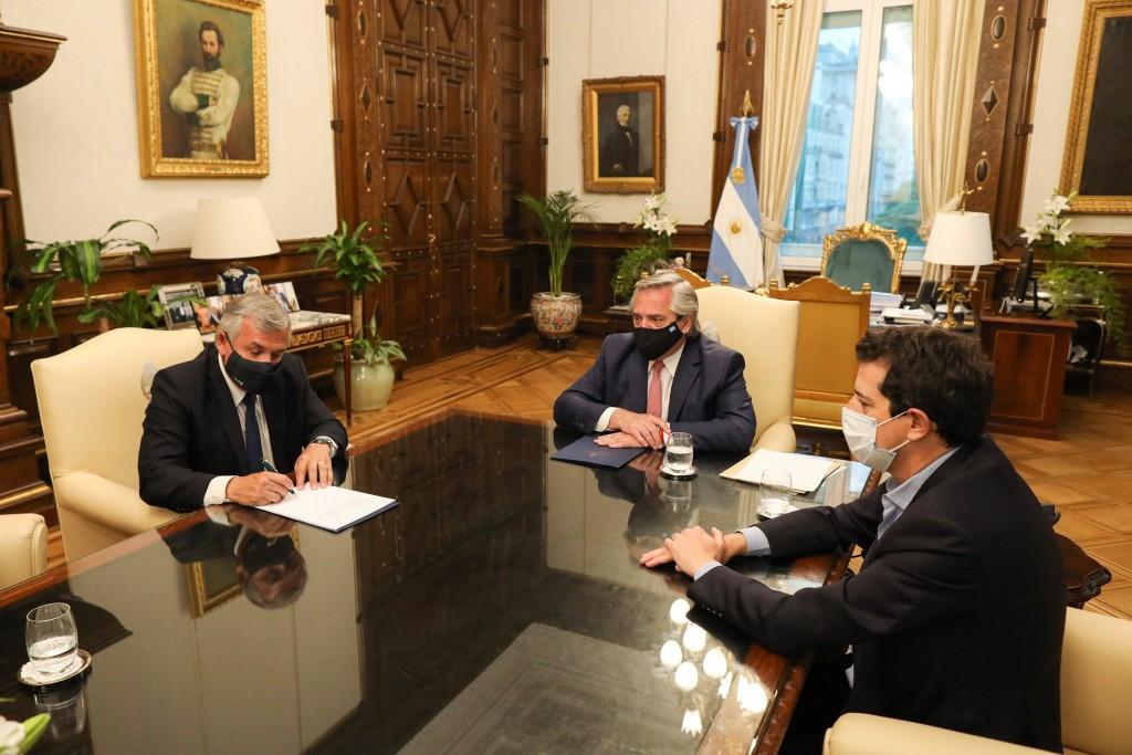 El Presidente firmó el Consenso Fiscal 2020 con el gobernador de Jujuy