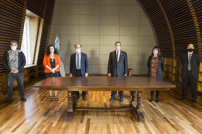 El Ministerio de Cultura de la Nación y el Banco de la Nación Argentina firmaron un convenio marco de cooperación y colaboración