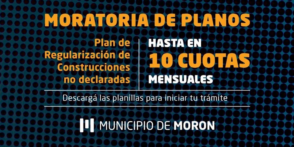 El Municipio de Morón brindará un plan de regularización de obras particulares a vecinos y vecinas del distrito