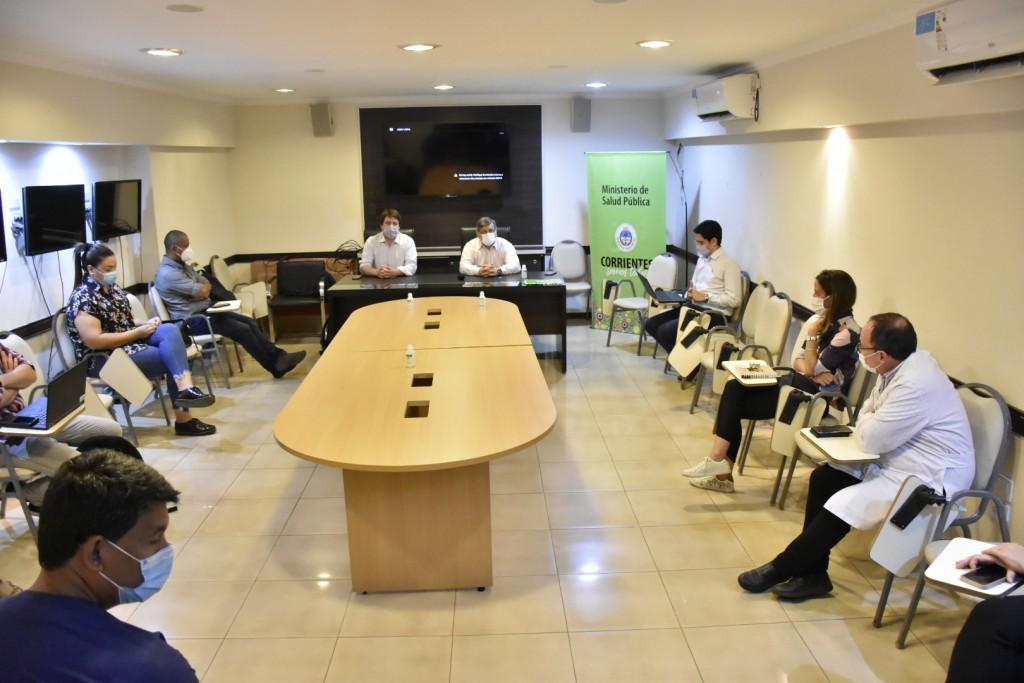 Autoridades nacionales y provinciales planificaron en Corrientes vacunación contra el COVID-19