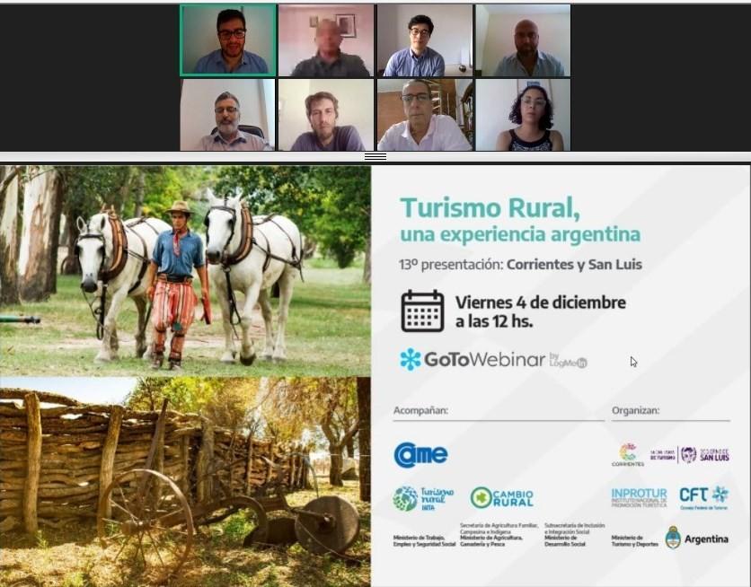 Finalizó el ciclo de Turismo Rural con la experiencia en San Luis y Corrientes