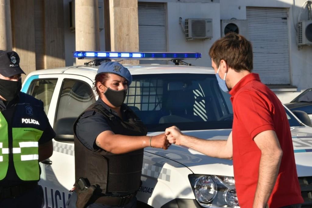 El Municipio de Morón entregó 5 nuevos patrulleros a la Policía Bonaerense