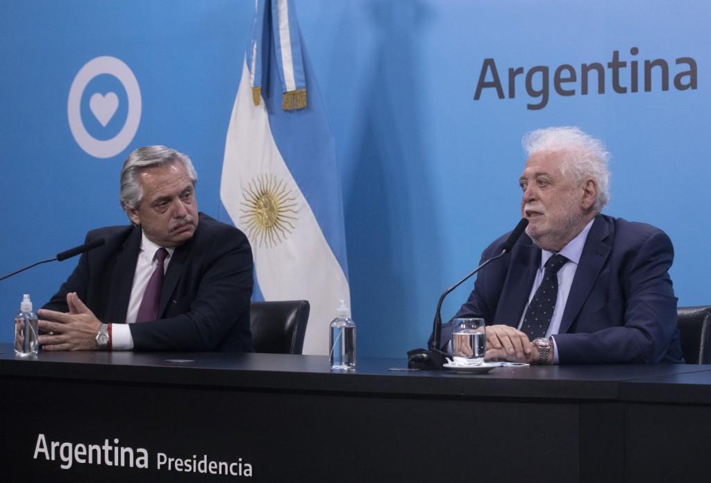El Presidente y el ministro de Salud anunciaron la firma del contrato para la adquisición de la vacuna Sputnik V