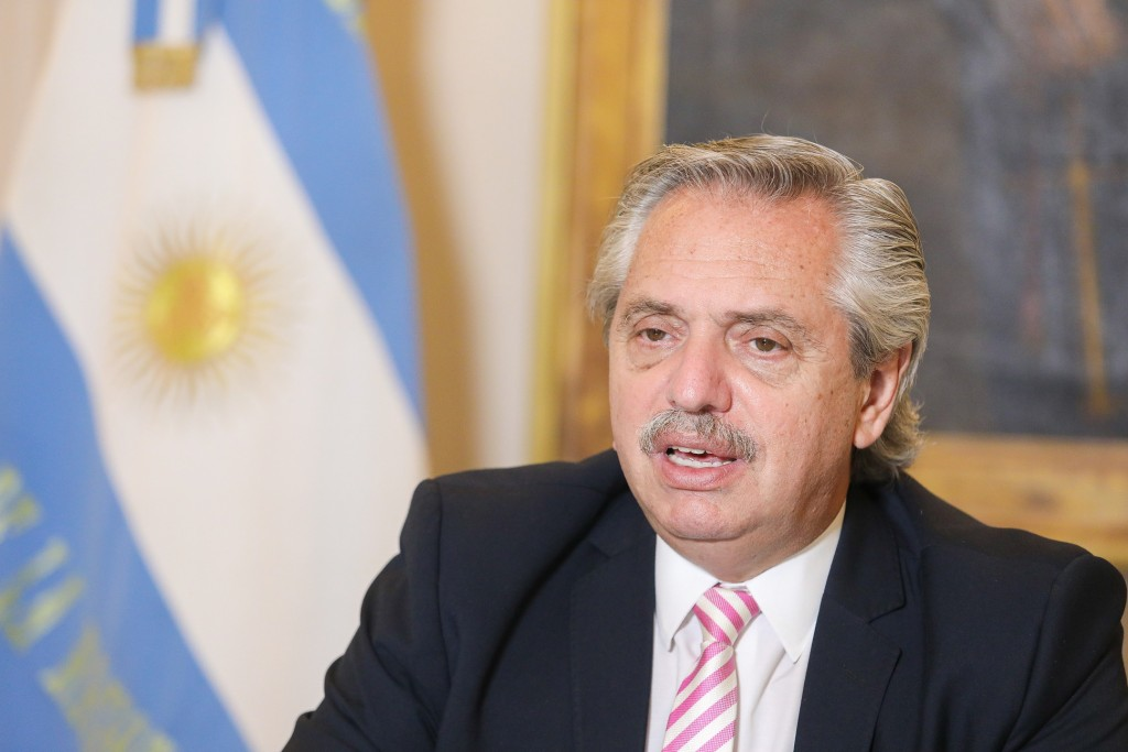 El Presidente anunció un mayor compromiso de la Argentina en la lucha contra el cambio climático