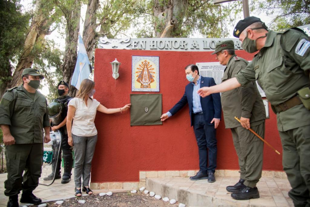 El Ministerio de Seguridad homenajeó a las y los 43 Gendarmes fallecidos hace 5 años en un accidente fatal