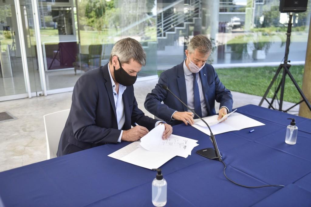 Firma de convenio entre el Ministerio de Turismo y Deportes y la UNSAM para conformar el Observatorio Social del Deporte