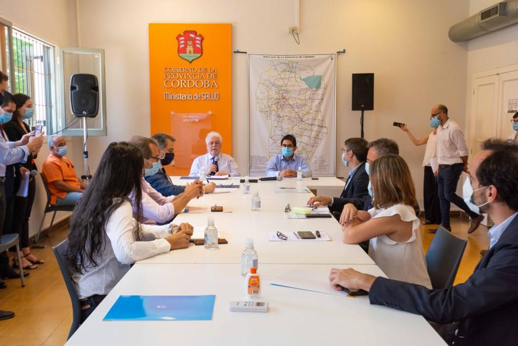 El ministro de Salud viajó a Córdoba para la organización provincial de la vacunación contra la COVID-19