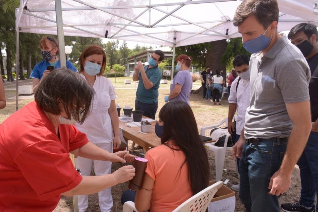El Municipio de Morón inició capacitaciones para la vacunación contra el Covid-19